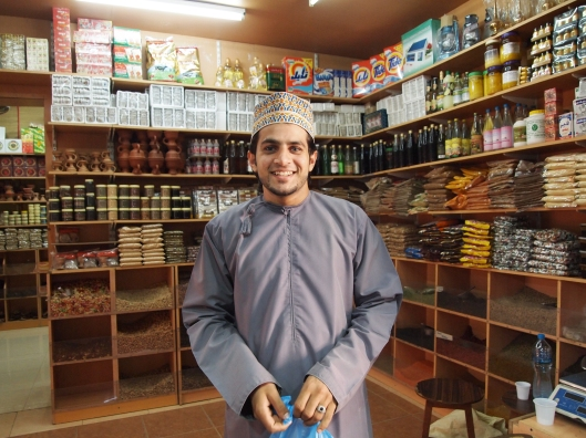 Ibrahim, Inge's go-to man for nuts and spices