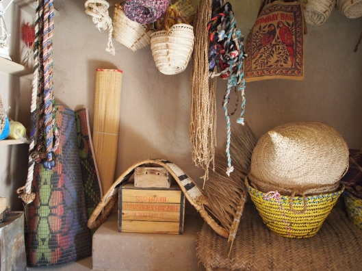 traditional Omani stuff in the Fort