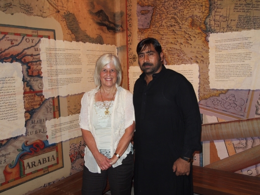 "me with Hashmi my Pakistani ""tour guide"""