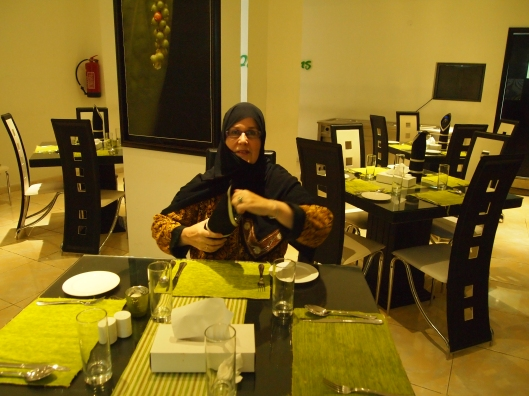 Anna, my colleague from University of Nizwa ~ in Peppercorn's