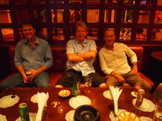 Martin, James & Mario