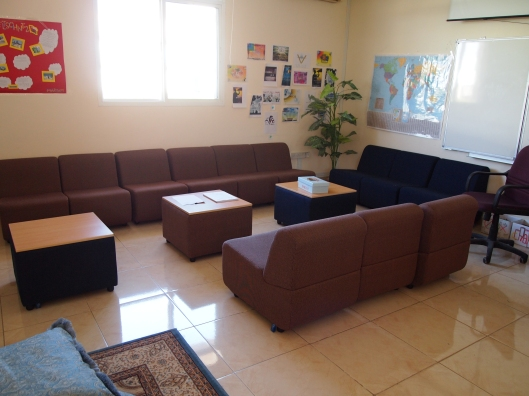 "The ""Voice"" room at the University of Nizwa"