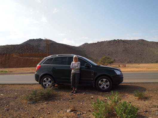 Me and my GMC Terrain... First American vehicle I think I've ever owned.  Loving it so far!
