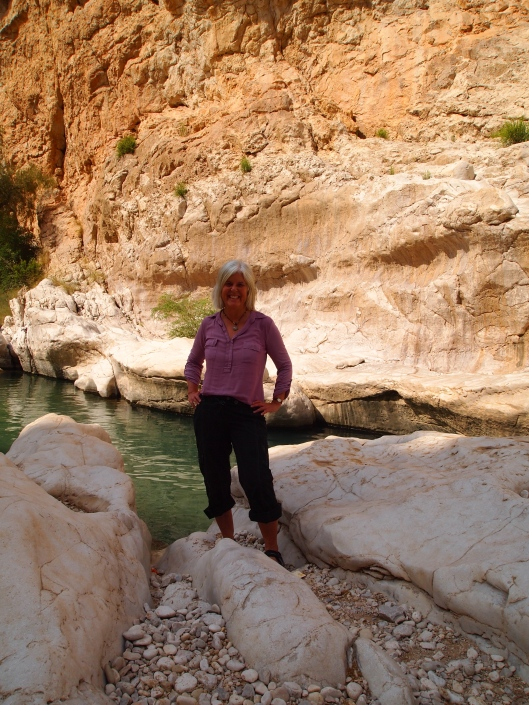 yours truly in the wadi