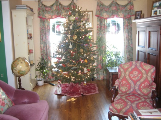 Christmas in my house in Oakton, Virginia