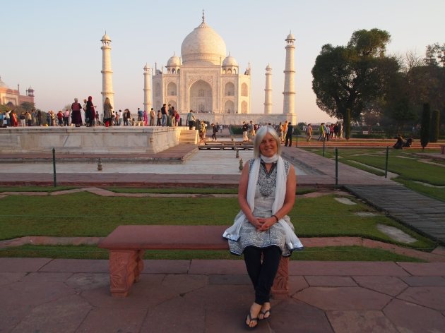 me at the taj mahal, march 2011