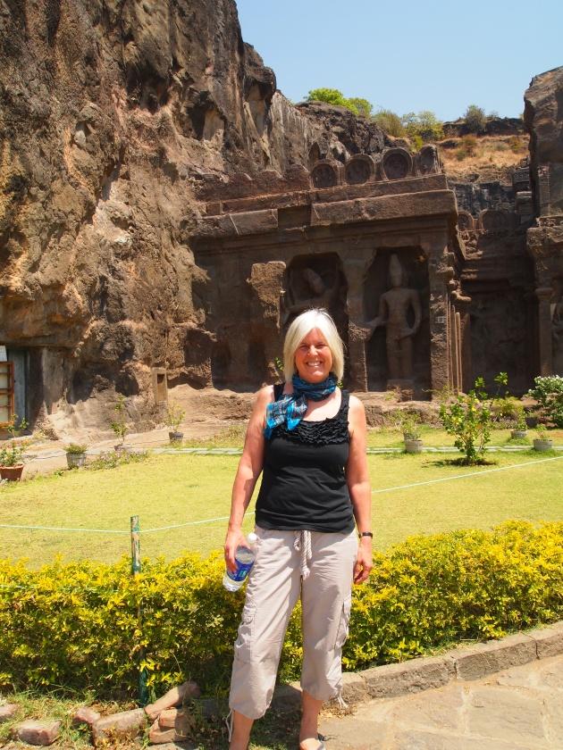 me in Aurangabad, India