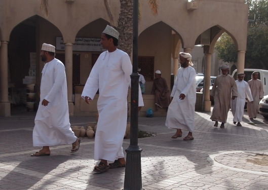 Omani men ~ the privileged ones
