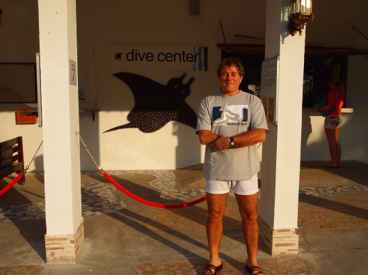 Guido at the Oman Dive Center