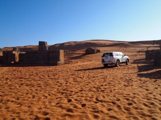 al areesh desert camp