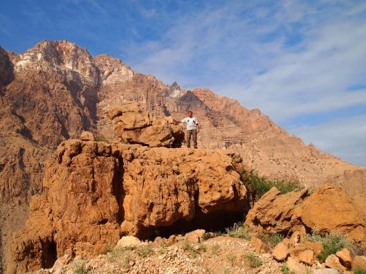 Guido the rock climber