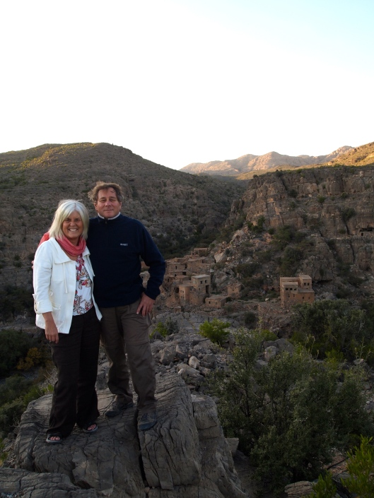 Guido and me at Jebel Akhdar