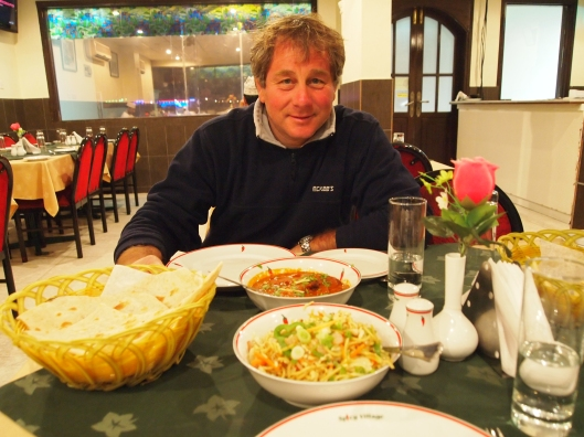 Guido at Spicy Village in Nizwa