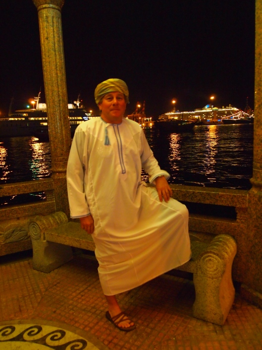 "guido ""the omani"" at the Mutrah corniche"