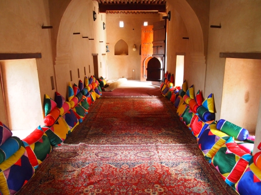one majlis at the fort