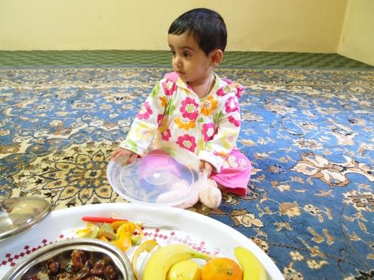 Adil's little girl