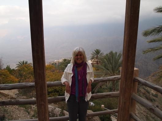 way up high above wadi mistal