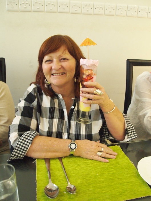 Happy birthday, Marcia!!
