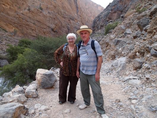 Sandy & Malcolm, my fellow travelers