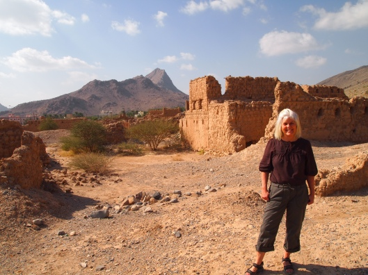 me at the bombed-out village of Old Tanuf