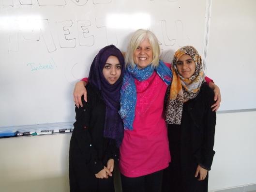nawf, me and sara
