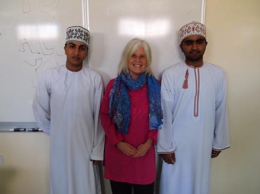 Saud, me and Badr
