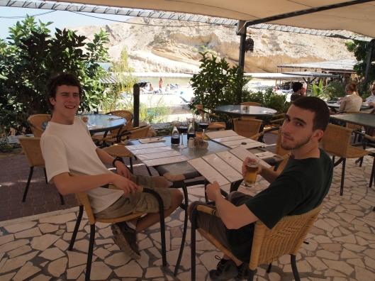 Adam & Alex at the Oman Dive Center