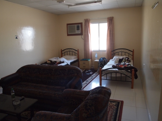 the boys' room at the Al Ghaftain Rest House
