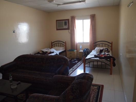 the boys' room at the Al Ghaftain Rest House