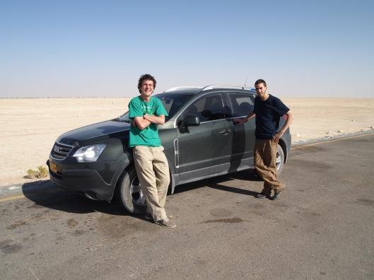 Adam, Alex and the GMC Terrain in the Empty Quarter