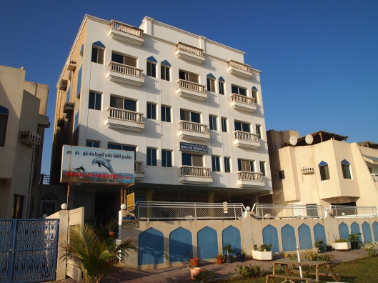 Salalah Beach Villas ~ right on the beach!
