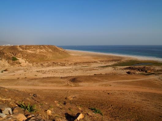 the plateau above Khawr Ruri