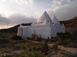 I love the dramatic setting of this mosque in Salalah, Oman