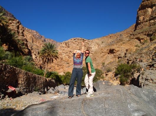 silly posin' at Wadi Tanuf