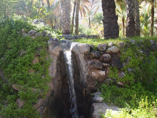 a waterfall in the plantations of Balad Sayt