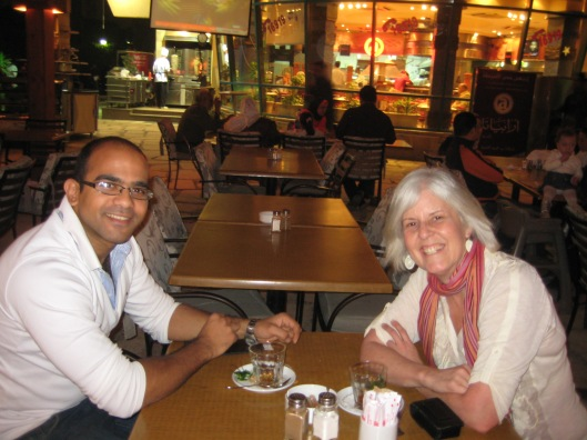 Ahmed and me in Cairo, February 2010