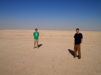 Adam & Alex in the Empty Quarter, Oman