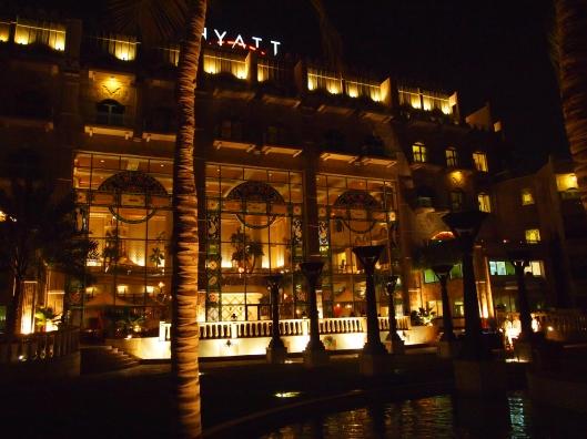 the Grand Hyatt
