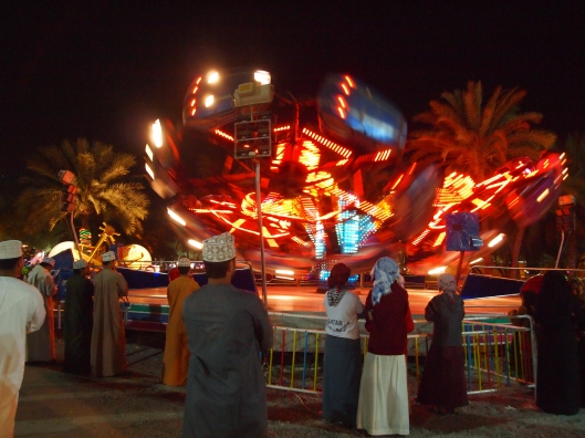 the Octopus at Muscat Festival