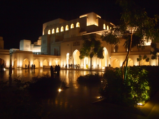 the royal opera house in muscat, february 15, 2012