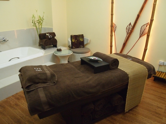 the massage room ~ lovely