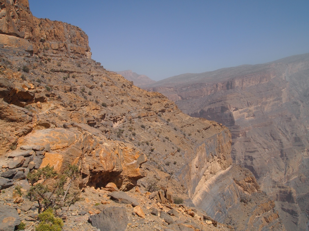 the balcony walk at jebel shams (4/6)