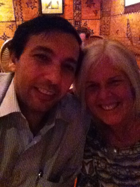 with Alqam at Trader Vic's