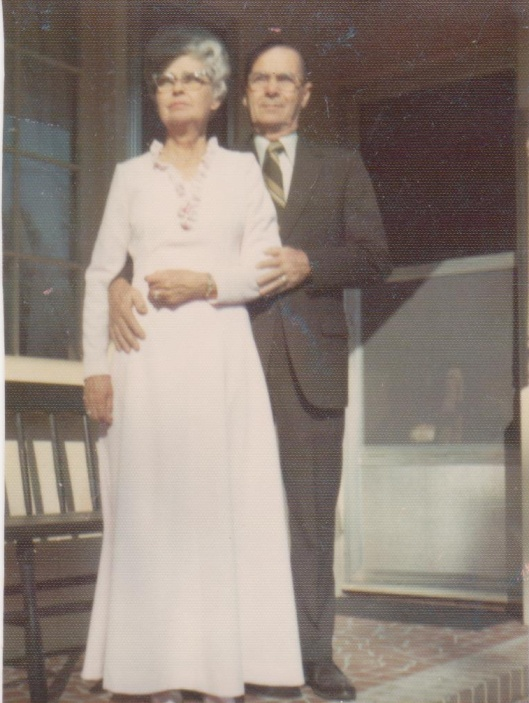 My grandmother and grandfather ~ I was so lucky to have them in my life...