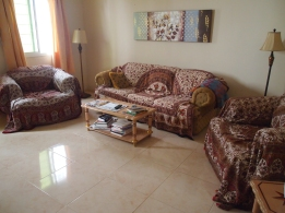 my living room in the Abu Nooh Building, Nizwa, Oman
