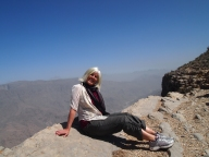 """my favorite """"sport"""" ~ hiking anywhere scenic and gorgeous... :-) Juniper Tree, Jebel Akhdar, Oman"""