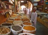 an Omani boy at Nizwa souq
