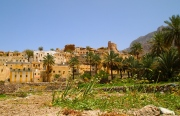 the village and the gardens of Balad Sayt in Oman