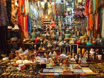 more goodies at Mutrah souq in Muscat, Oman