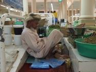 asleep at work ~ Nizwa souq, Oman